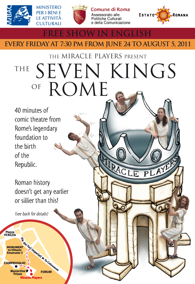 The Seven Kings of Rome - a new play by the Miracle Players ...